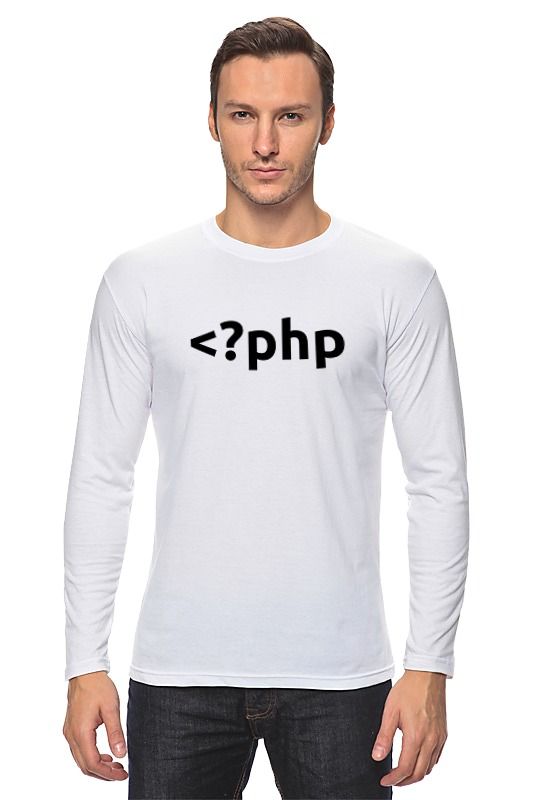 Лонгслив Printio Php tag