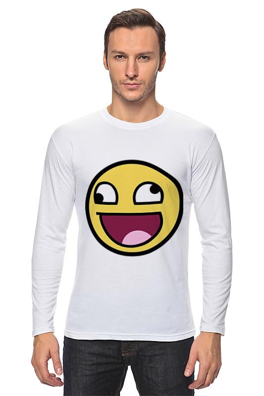 Лонгслив Printio Awesome smile футболка классическая printio awesome smile
