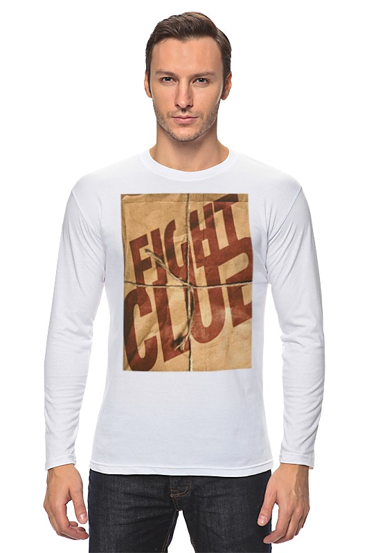 Лонгслив Printio Fight club / бойцовский клуб palahniuk c fight club