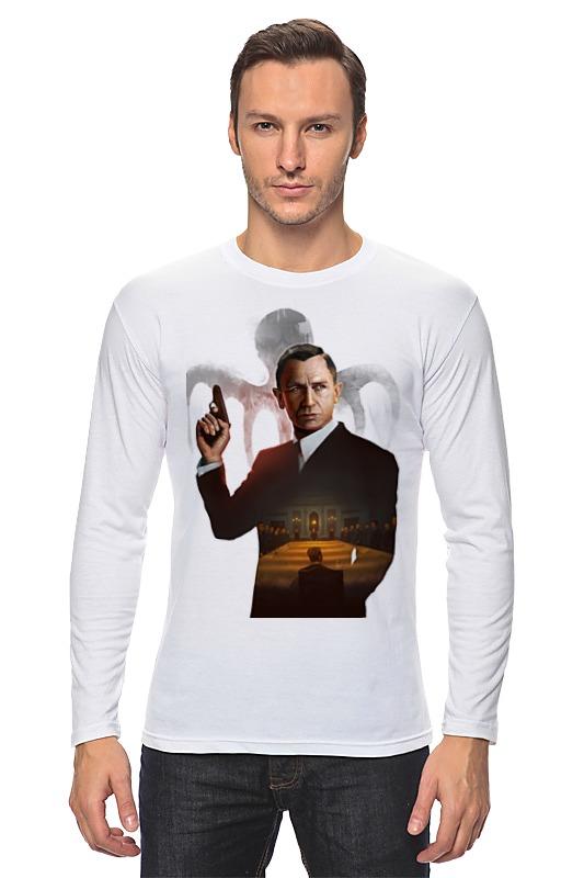 Лонгслив Printio 007: spectre лонгслив printio 007 золотой глаз