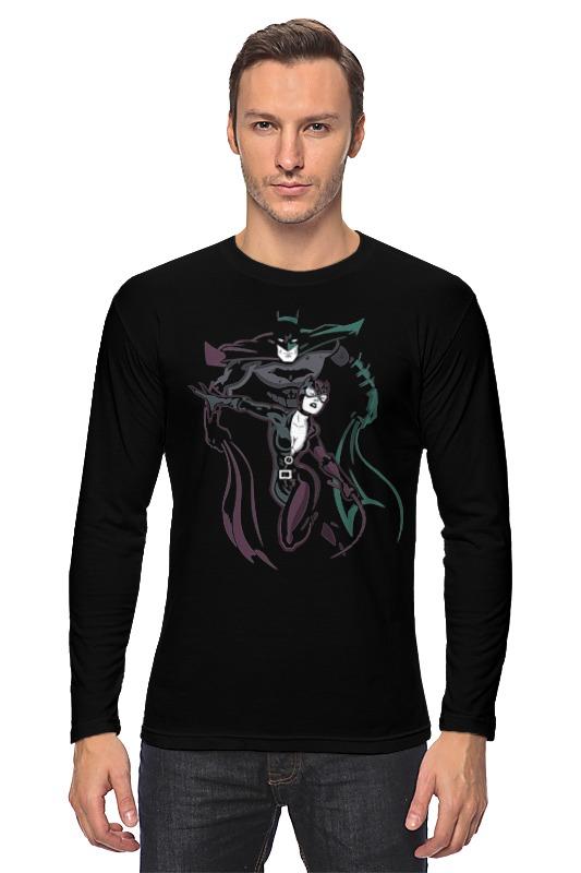 Лонгслив Printio Бэтмен и женщина-кошка ключ jtc 4110