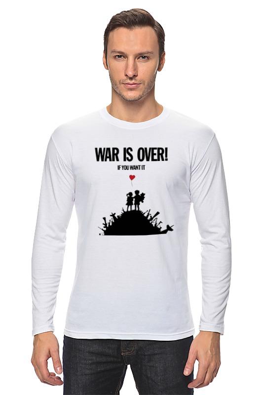 Лонгслив Printio War is over