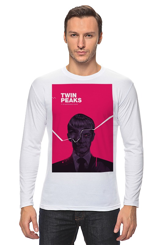 Лонгслив Printio Твин пикс / twin peaks цена