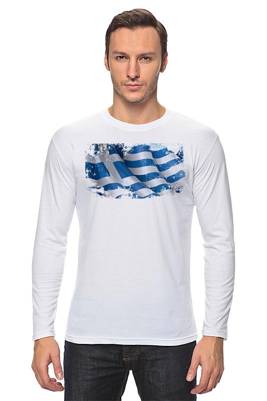 Printio Греческий флаг (винди) bonpoint лонгслив белый с принтом