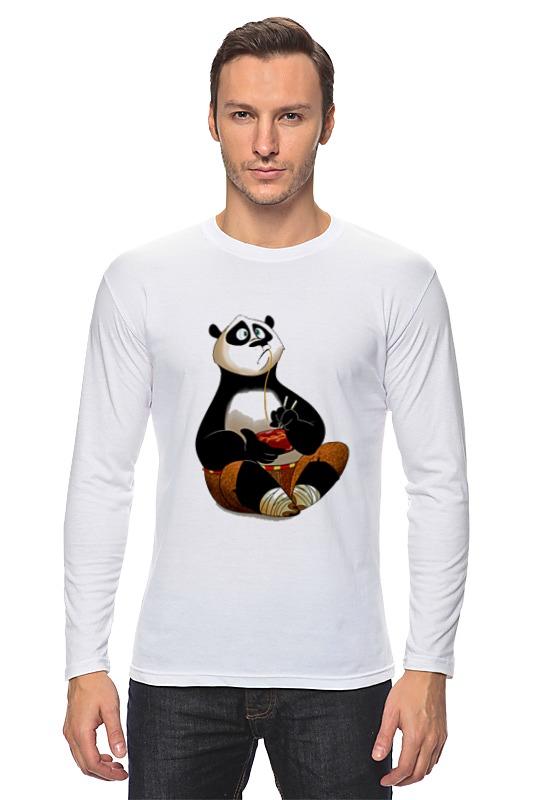 Лонгслив Printio Кунг фу панда кунг фу панда 2 3d blu ray
