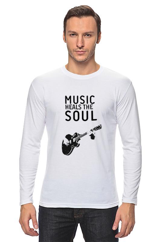 Лонгслив Printio Music heals the soul сумка printio soul eater