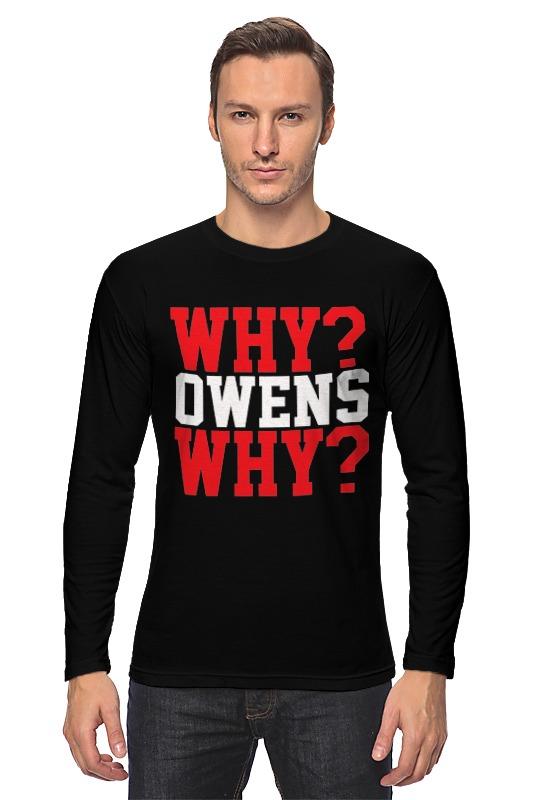 Лонгслив Printio Why? owens why? (wwe) wwe рей мистерио маска купить в москве