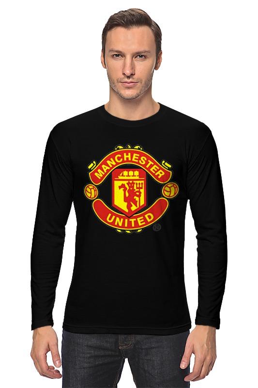Лонгслив Printio Manchester united 1878 футбольная форма top thai manchester united 2014 15 n98 jacket chelsea