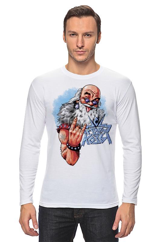 Лонгслив Printio Новогодний принт 2015 – с годом козы! ostin футболка с новогодним принтом