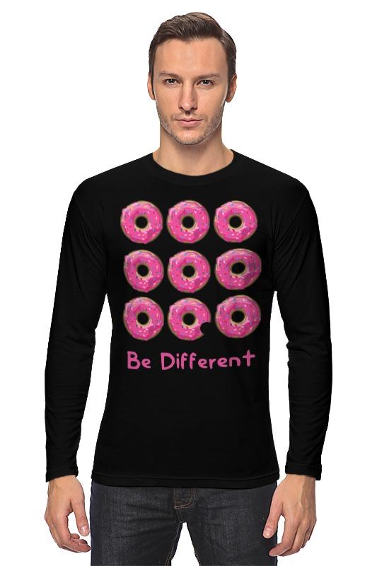 Лонгслив Printio Пончики