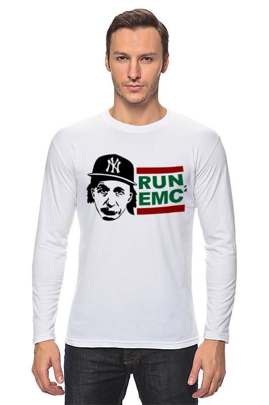 купить Лонгслив Printio Run emc по цене 997 рублей