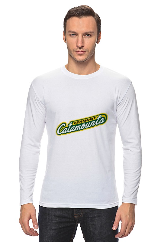 Лонгслив Printio Vermont catamounts football цена