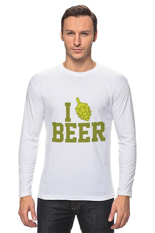 Лонгслив Printio Я люблю пиво худи print bar я пришел выпить ваше пиво
