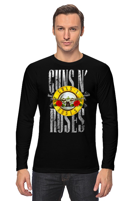 Лонгслив Printio Guns n' roses guns n roses guns n roses use your illusion 1
