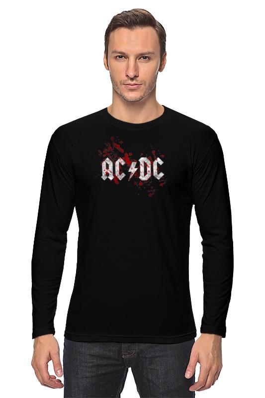 Лонгслив Printio Ac/dc (австралийская рок-группа)