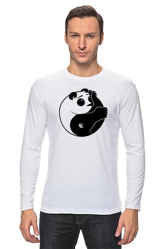 Лонгслив Printio Панда (panda) лонгслив серый grey fresh collection organic panda 44