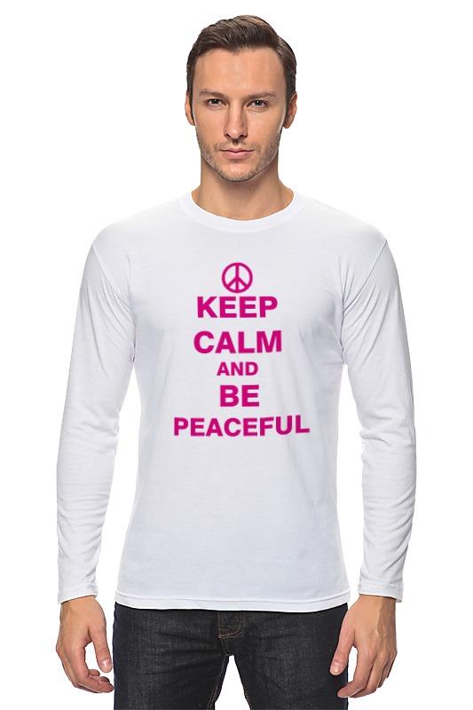 Лонгслив Printio Мир (peace) peace