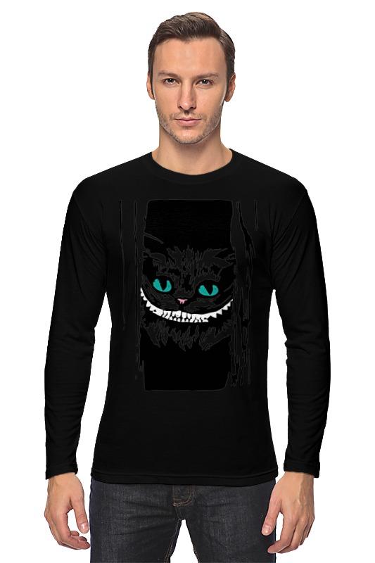Лонгслив Printio Чеширский кот (алиса  стране чудес)
