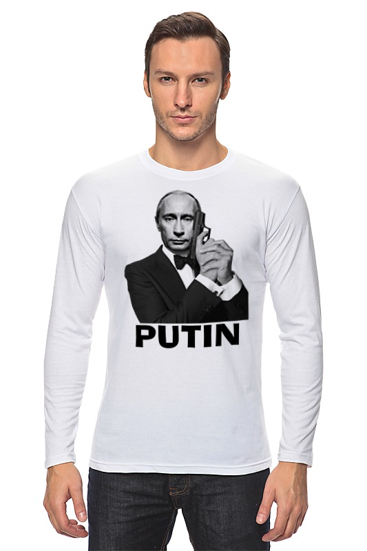 Лонгслив Printio Путин лонгслив printio путин власть