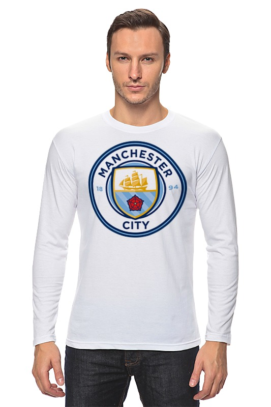 Лонгслив Printio Manchester city кепка printio manchester city