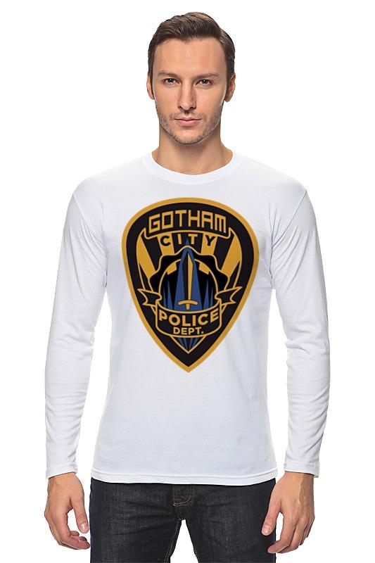 Лонгслив Printio Полиция готэма (бэтмен) футболка рингер printio полиция готэма бэтмен