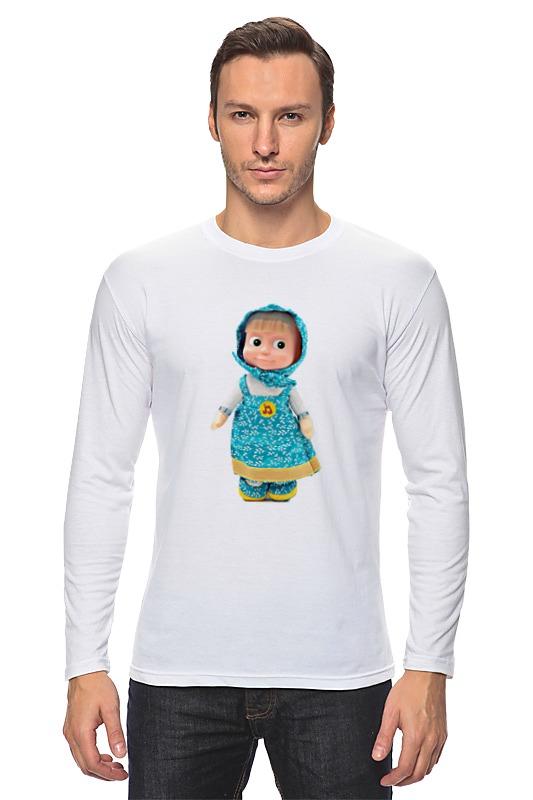 Лонгслив Printio Кукла маша из мульта. смешная озорная. . кукла yako m6579 6