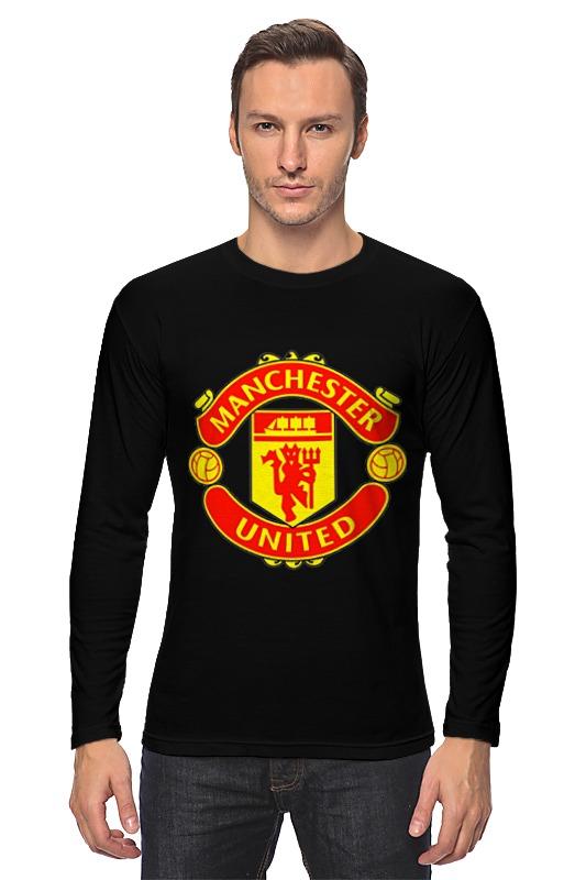Лонгслив Printio Manchester united glasvegas manchester