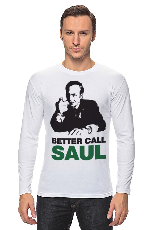 Лонгслив Printio Better call saul лонгслив printio better call saul