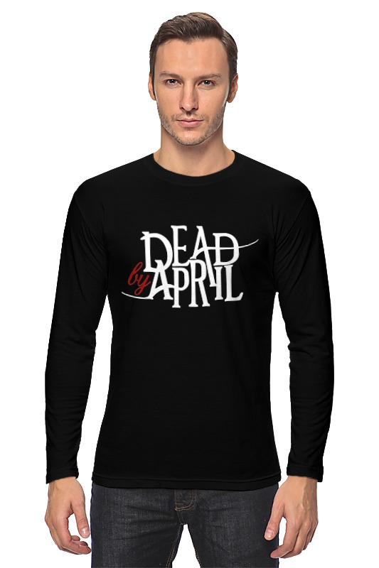 Лонгслив Printio Dead by april red april