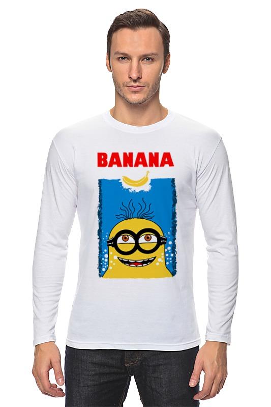 купить Лонгслив Printio Banana jaws недорого