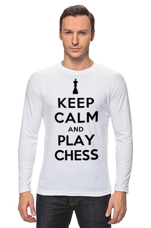 Лонгслив Printio Играй в шахматы лонгслив printio 62 2% в саратове