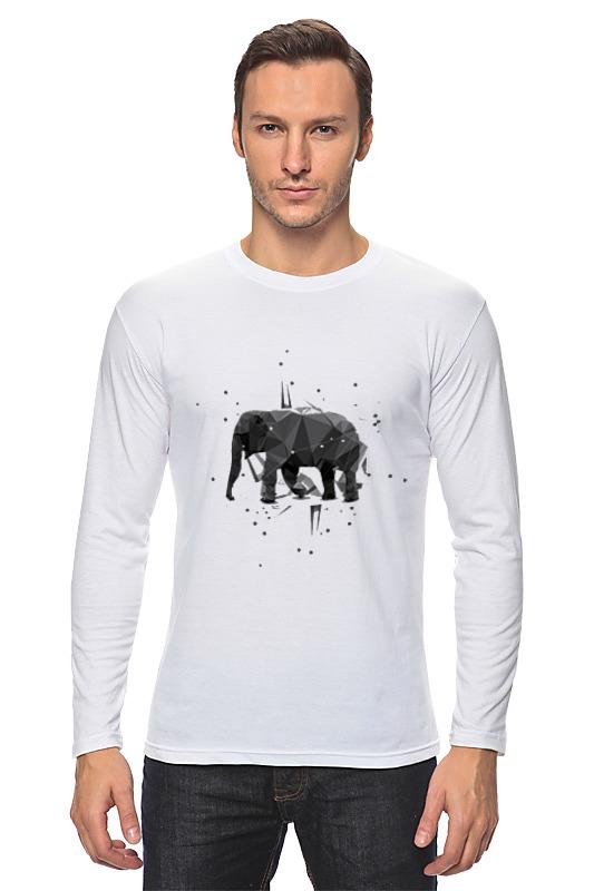 Лонгслив Printio Elephant