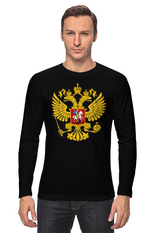 все цены на Лонгслив Printio Российский герб онлайн