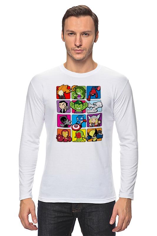 Фото - Лонгслив Printio Супергерои комиксов чехол для iphone 7 глянцевый printio супергерои комиксов