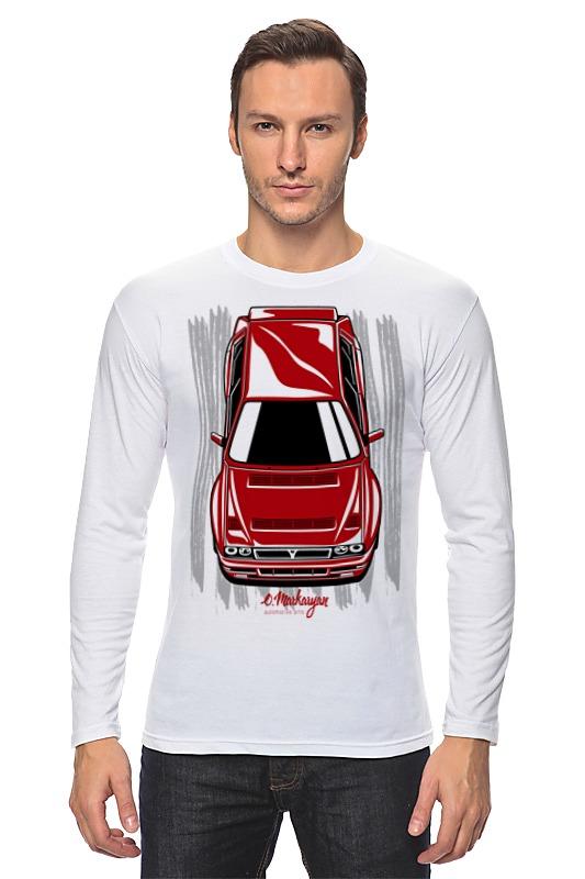 Лонгслив Printio Lancia delta цены