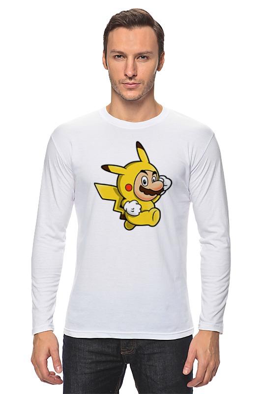 где купить Лонгслив Printio Mario x pokemon по лучшей цене