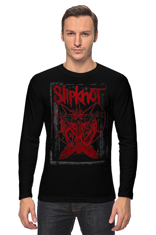 Лонгслив Printio Slipknot slipknot the story of slipknot