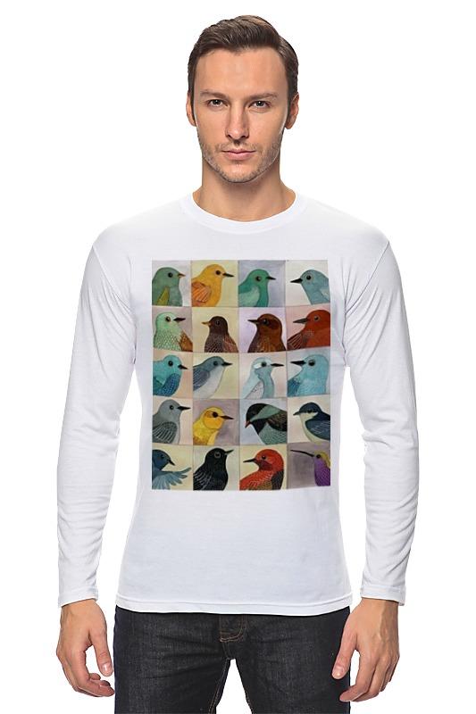 Лонгслив Printio Птицы перелетные птицы
