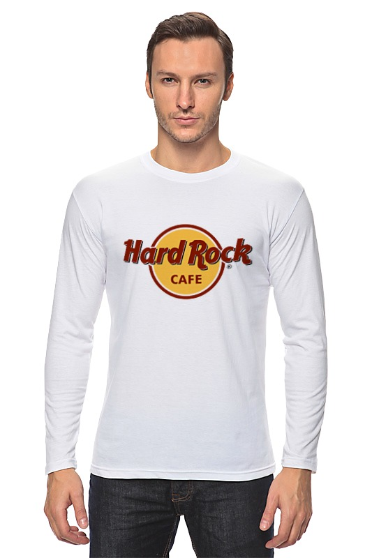 Лонгслив Printio Hard rock rock