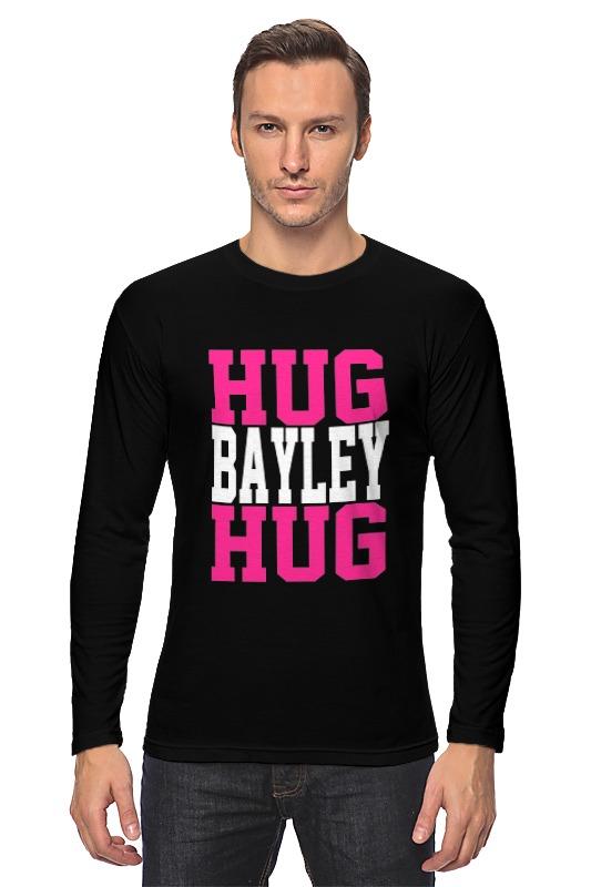 Лонгслив Printio Hug bayley hug (wwe) lovin hug