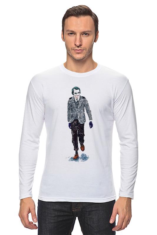Лонгслив Printio Joker костюм веселого клоуна 34