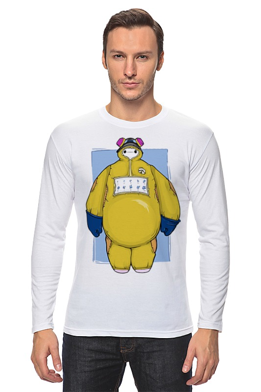 Printio Baymax x breaking bad майка классическая printio baymax x breaking bad