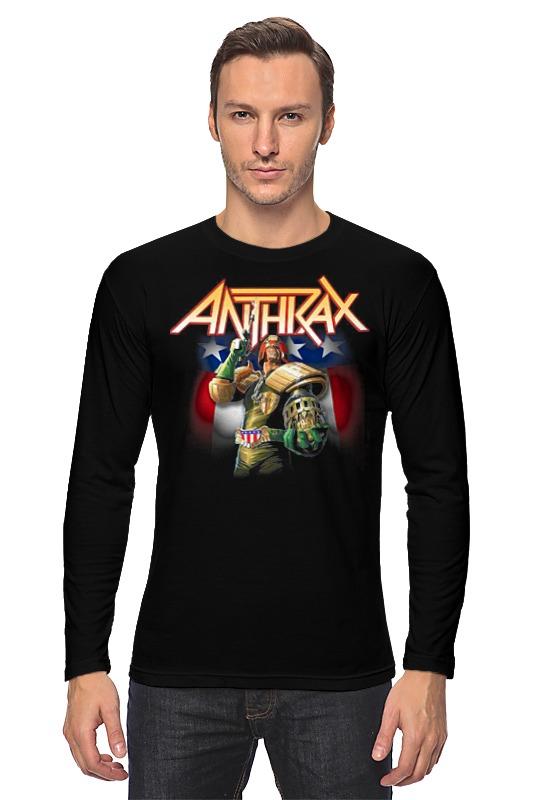 Printio Anthrax band лонгслив printio anthrax band