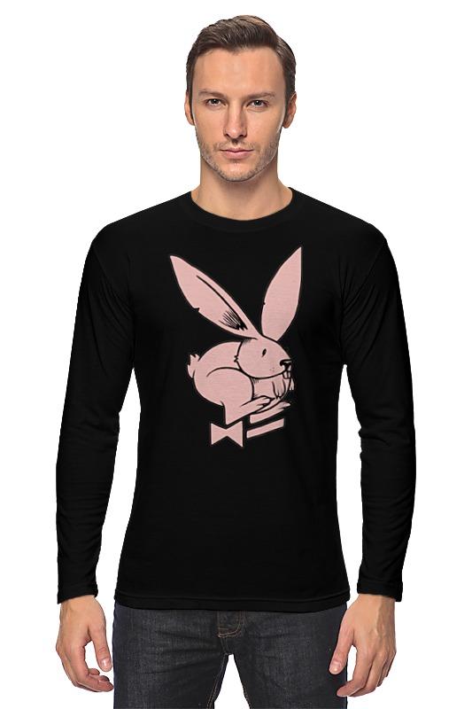 Лонгслив Printio Playboy / зайчик цена