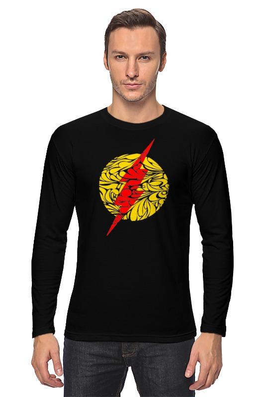 Лонгслив Printio Flash (молния)