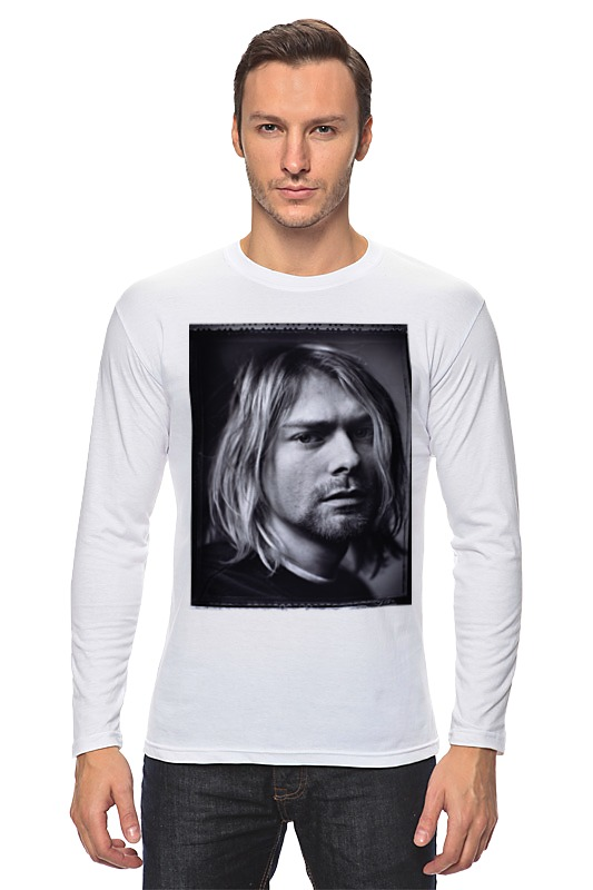 Лонгслив Printio Kurt cobain сумка printio kurt cobain sounds