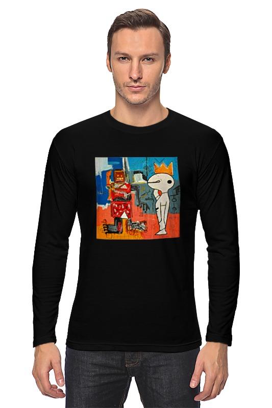 Лонгслив Printio Basquiat / баския баския