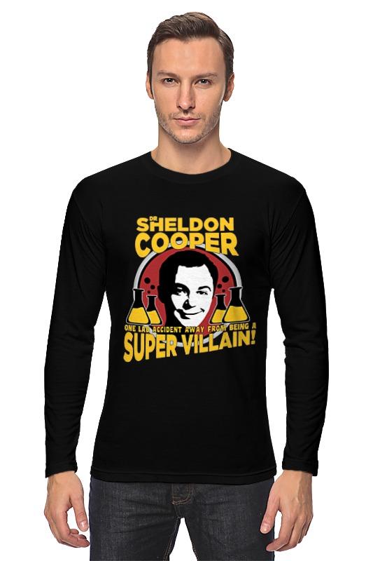 Лонгслив Printio Sheldon cooper (шелдон купер) майка классическая printio шелдон купер moon pie