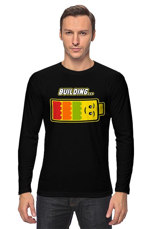 Лонгслив Printio Лего (строительство)