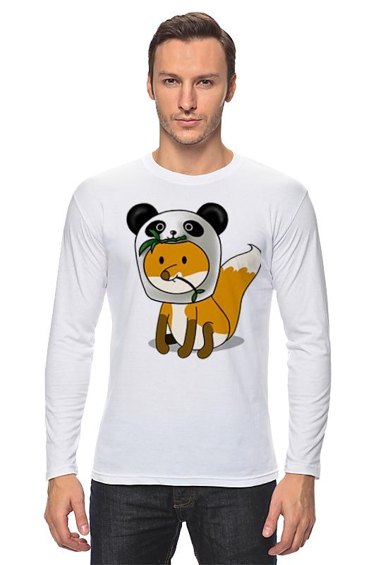 Лонгслив Printio Лисенок панда лонгслив printio с пандой